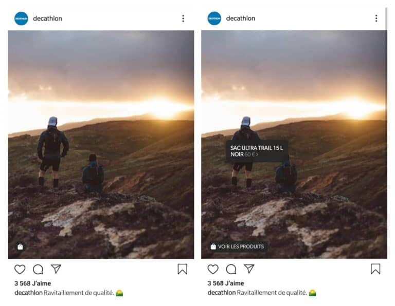 insta shopping etap1  - Comment fonctionne l'option shopping sur Instagram ?