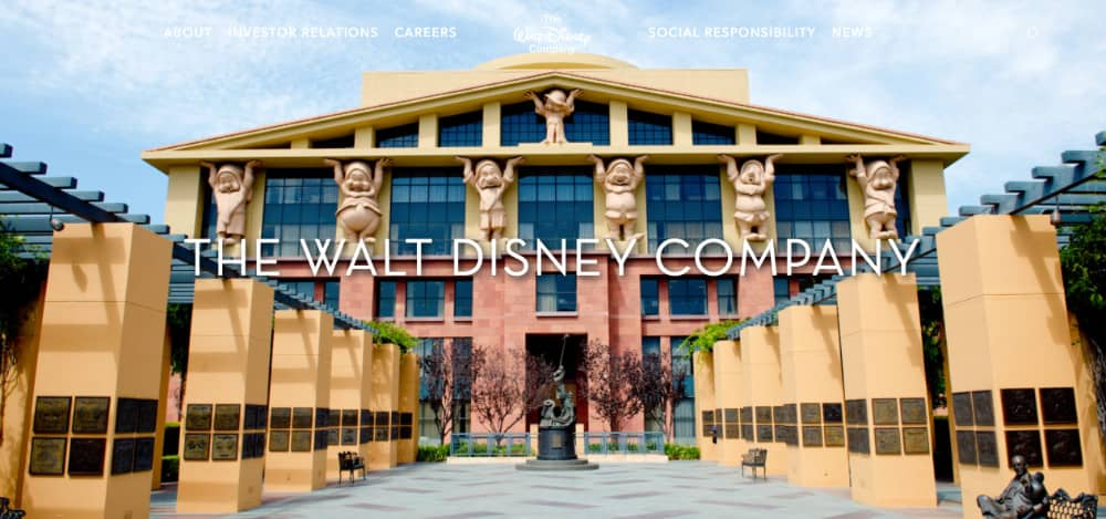thewaltdisney company wordpress youdemus - 10 sites de grands groupes qui utilisent WordPress